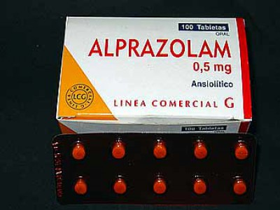 Alprazolam 0.5 ,1mg , 2mg